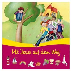 Serviettenset Mit Jesus auf dem Weg