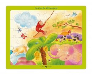 Gott hat die Welt gemacht - Bibel-Puzzle