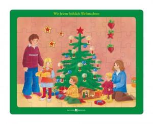 Puzzle: Wir feiern fröhlich Weihnachten - Bibel-Puzzle