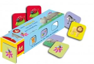 Mein Bibel-Memo von denTieren der Schöpfung - Kartenlegespiel mit 36 Bildpaaren