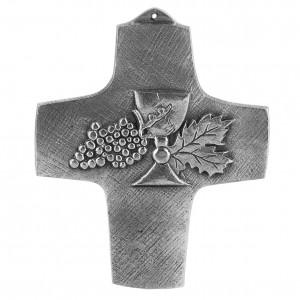 Kreuz aus Neusilber - Meine erste heilige Kommunion