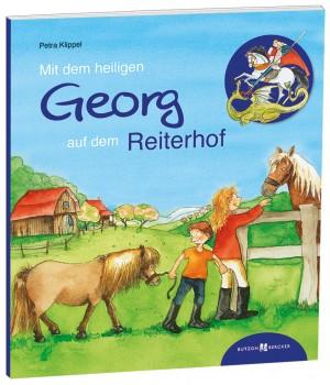 Mit dem heiligen Georg auf dem Reiterhof