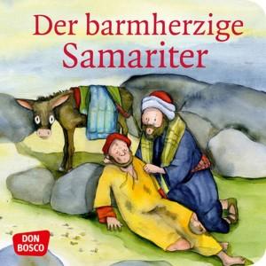 Der barmherzige Samariter. Mini-Bilderbuch.