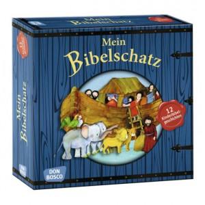 Mein Bibelschatz - 12 Kinderbibelgeschichten