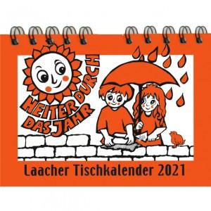 Laacher Tischkalender Heiter durch das Jahr 2021