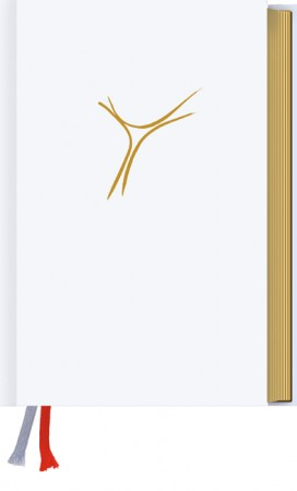 Gotteslob Kunstleder weiß mit Goldschnitt - Bistum Regensburg