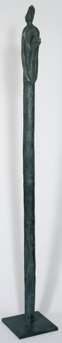 Säulenfigur Frau
