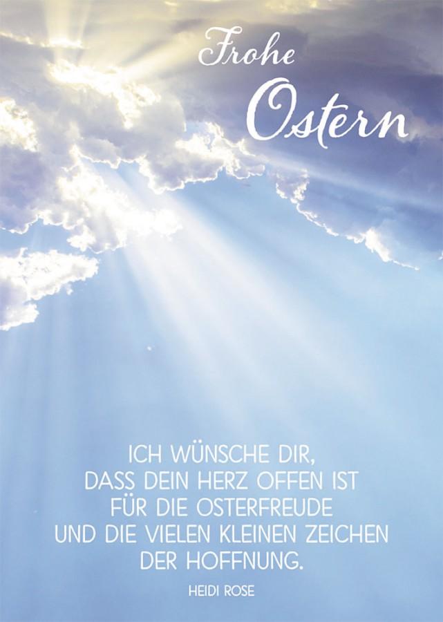 Postkarte Frohe Ostern