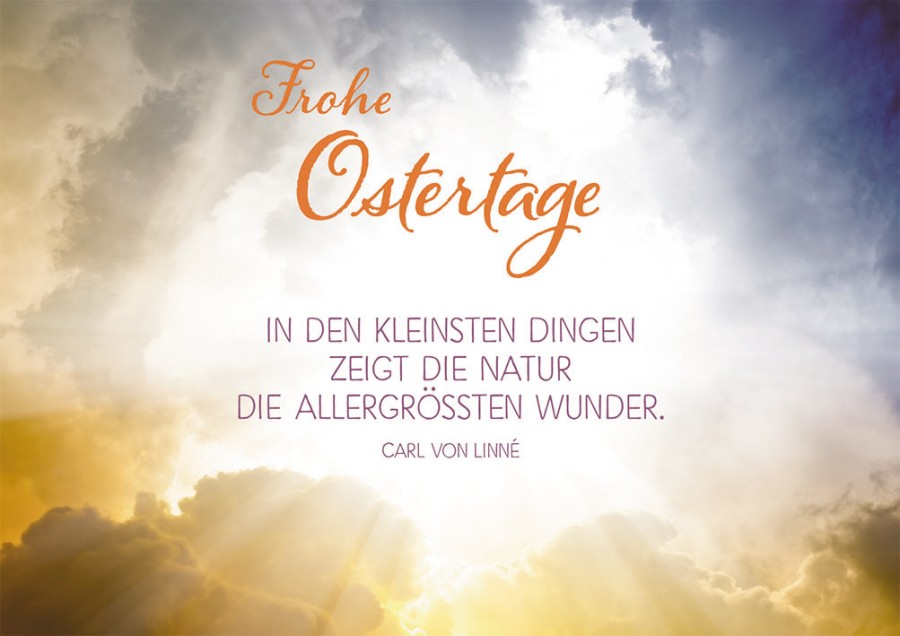 Postkarte Frohe Ostertage