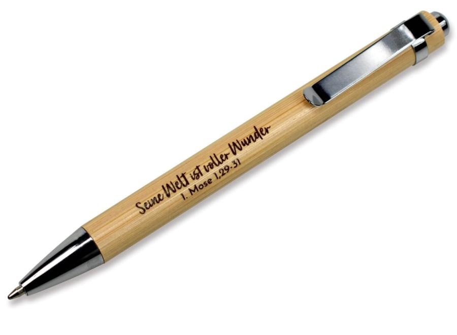 Kugelschreiber Bambus