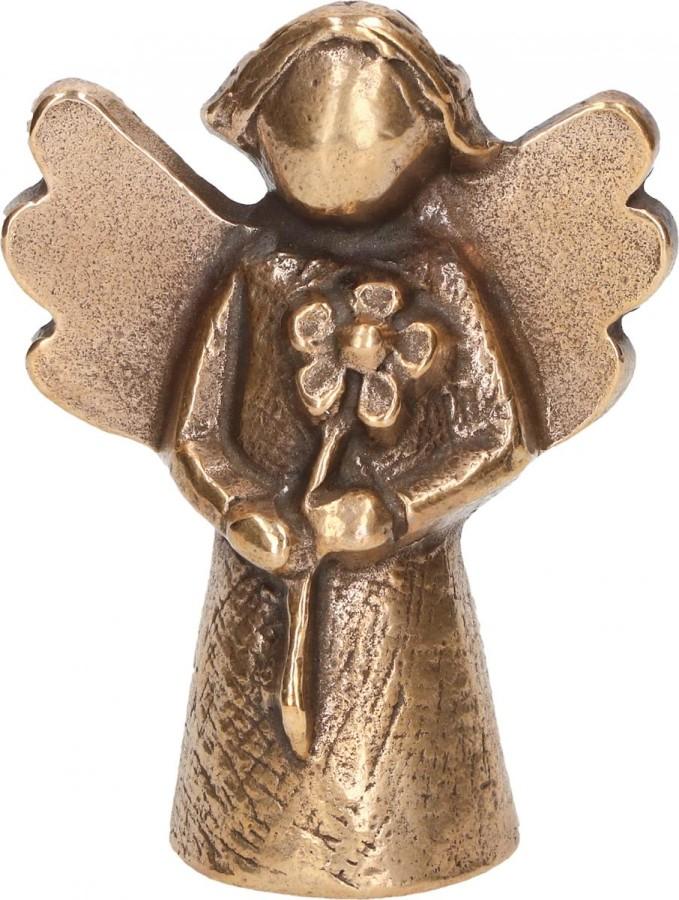 Bronzefigur Engel - Alles Liebe und Gute