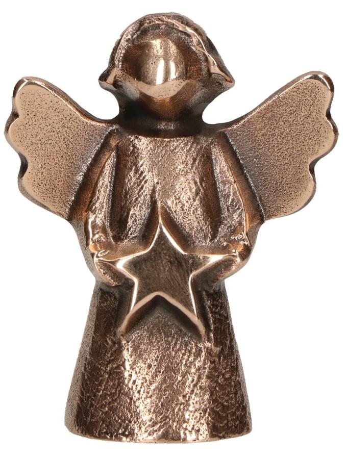 Bronzefigur Engel - Sternenzeit
