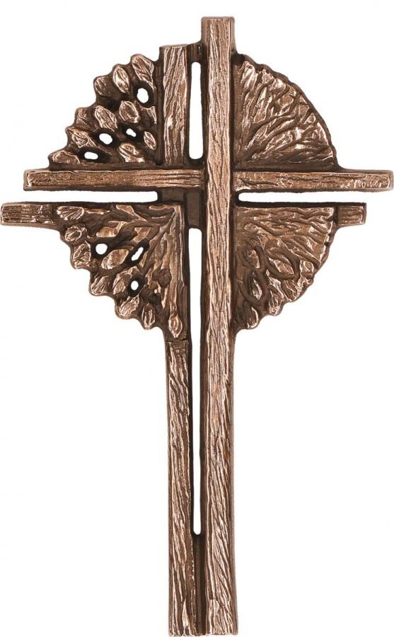 Schmuckkreuz Lebensbaum aus Bronze
