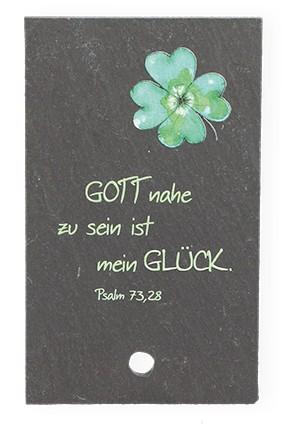 Schieferrelief - Gott nahe zu sein...