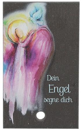 Schieferrelief Dein Engel segne dich