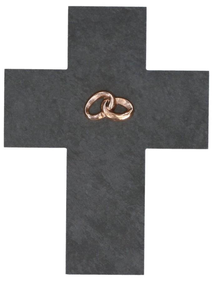 Ehekreuz aus Schiefer