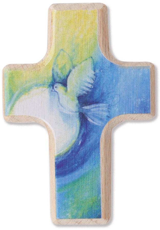 Handschmeichlerkreuz Segenstaube