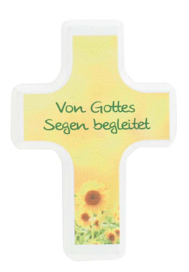 Handschmeichlerkreuz Von Gottes Segen begleitet