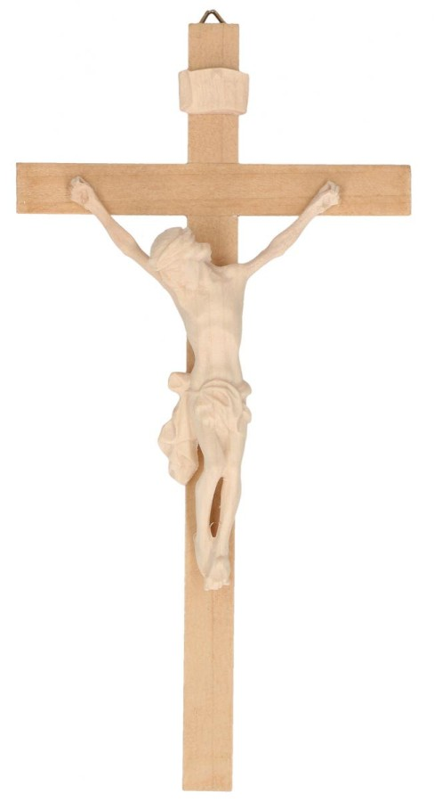 Holzkreuz mit Holzkorpus