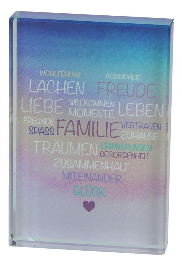 Mutmach-Glasquader - Familie