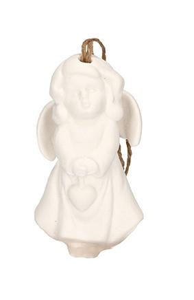 Engel aus Porzellan Weihnachtspost vom kleinen Engel