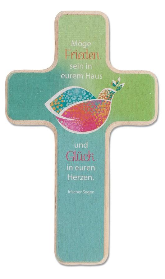 Holzkreuz Segenstaube