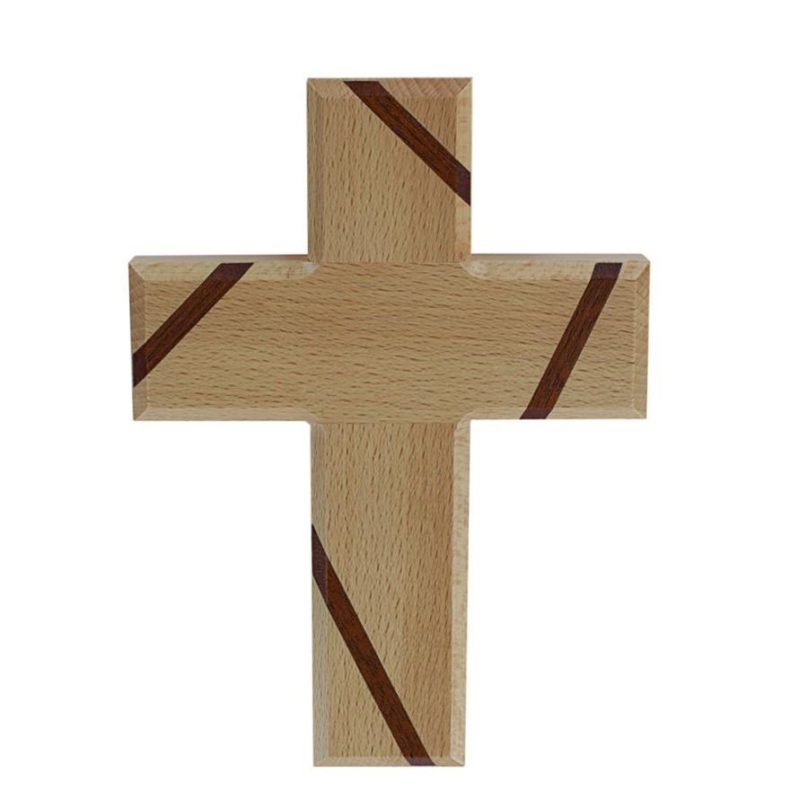 Holzkreuz: Schmuckkreuz