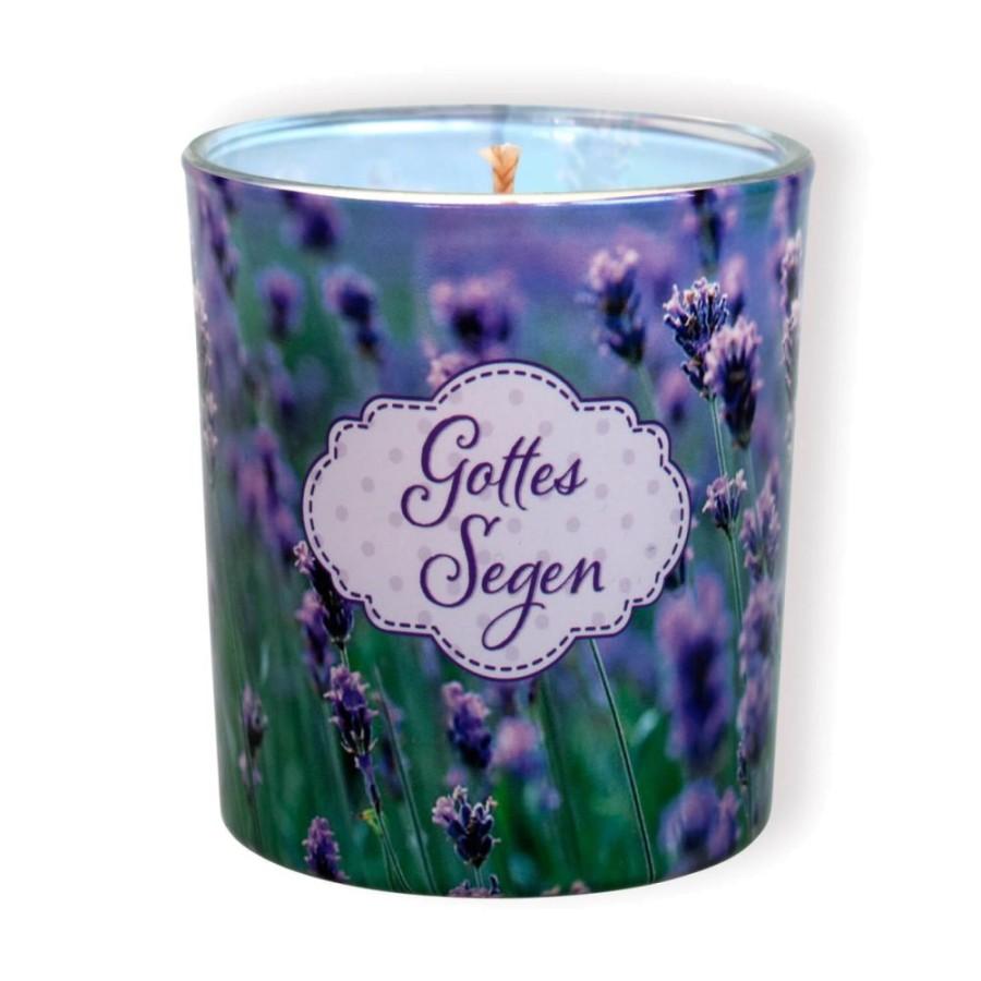 Duftkerzenglas Lavendel