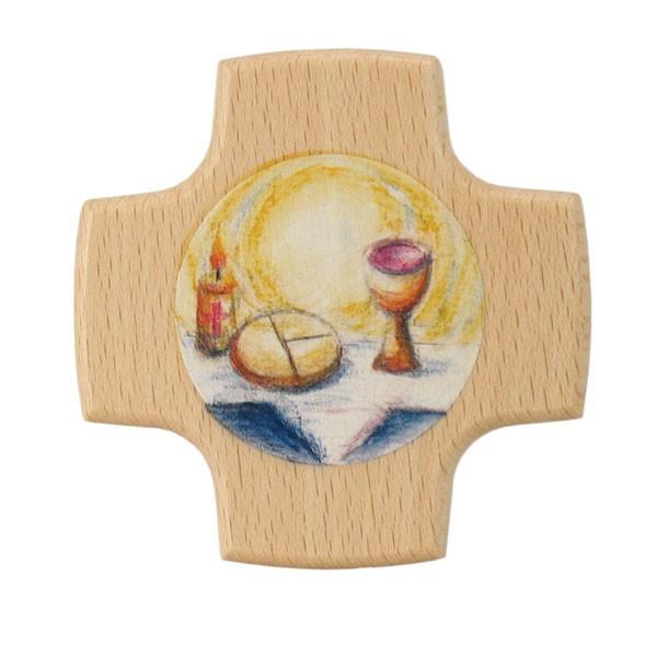 Kreuz Brot und Wein