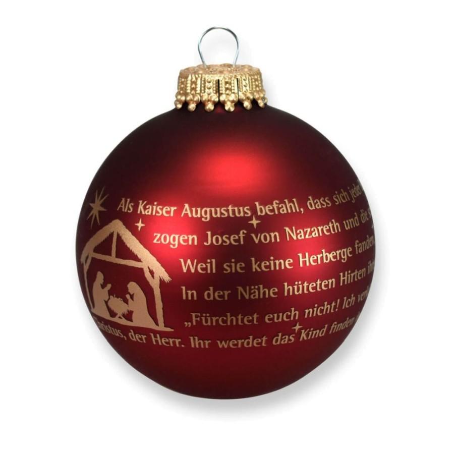 Christbaumkugel - Weihnachtsgeschichte