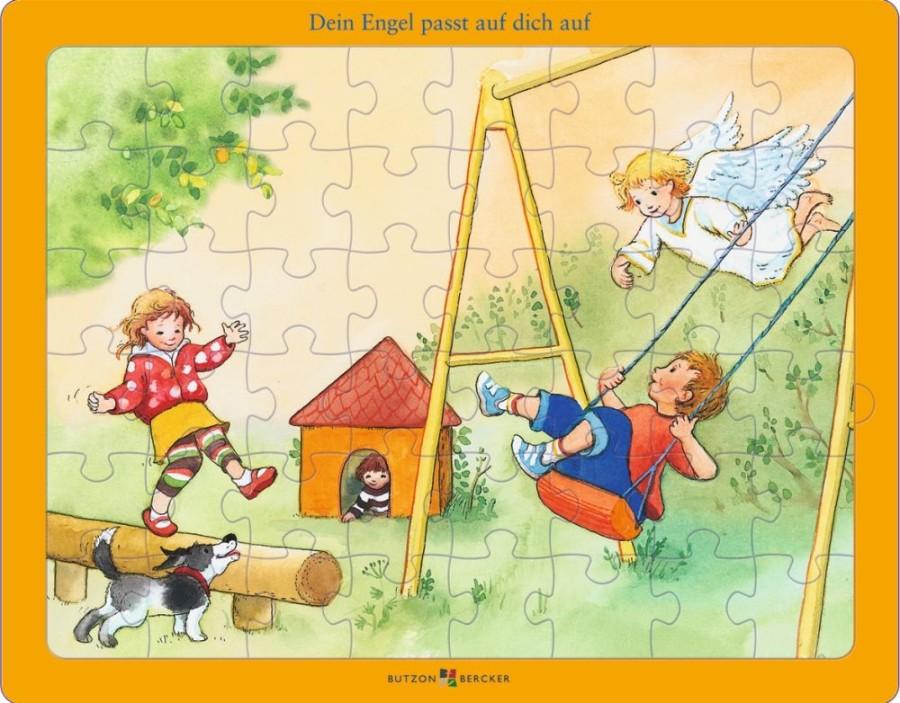 Puzzle: Dein Engel passt auf dich auf - Glaubens-Puzzle