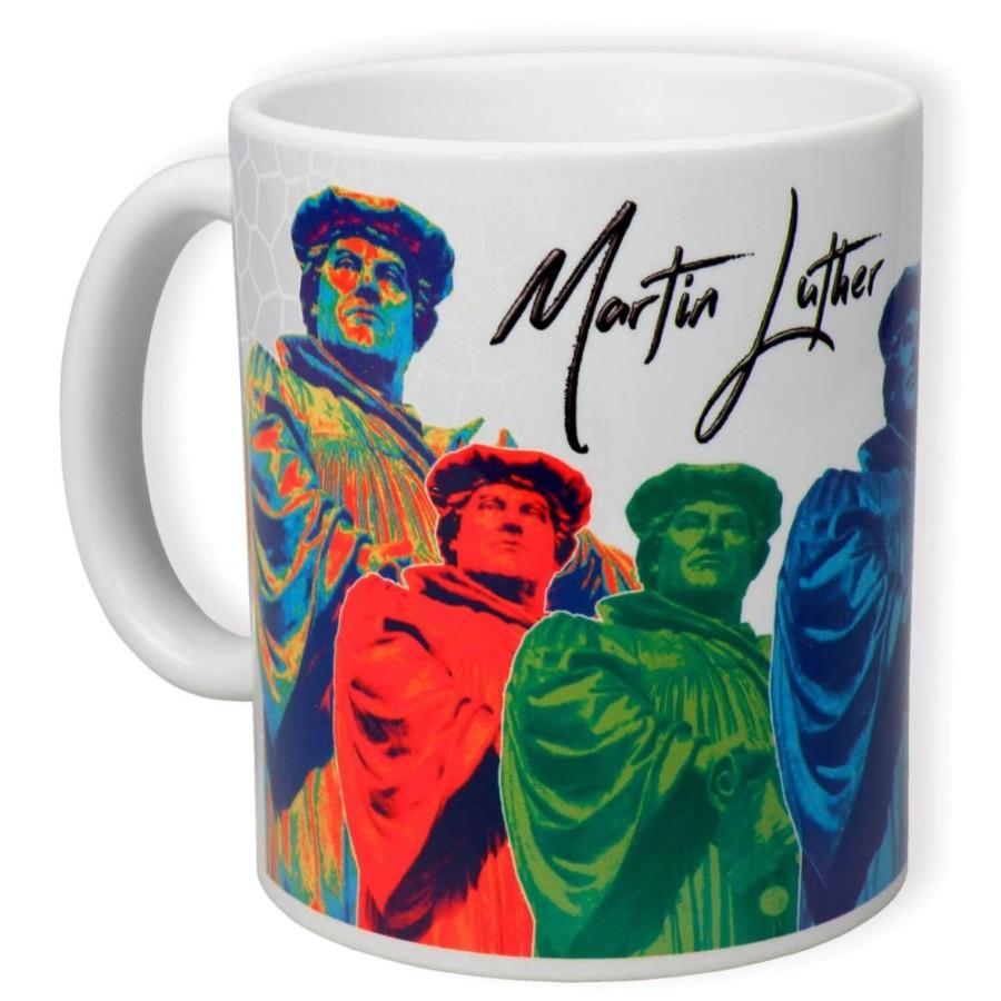 Keramiktasse - Martin Luther