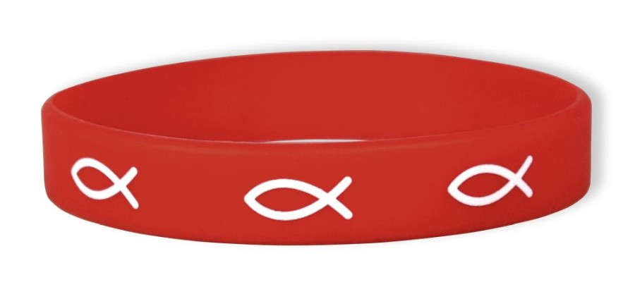 Bekenntnis-Armband rot