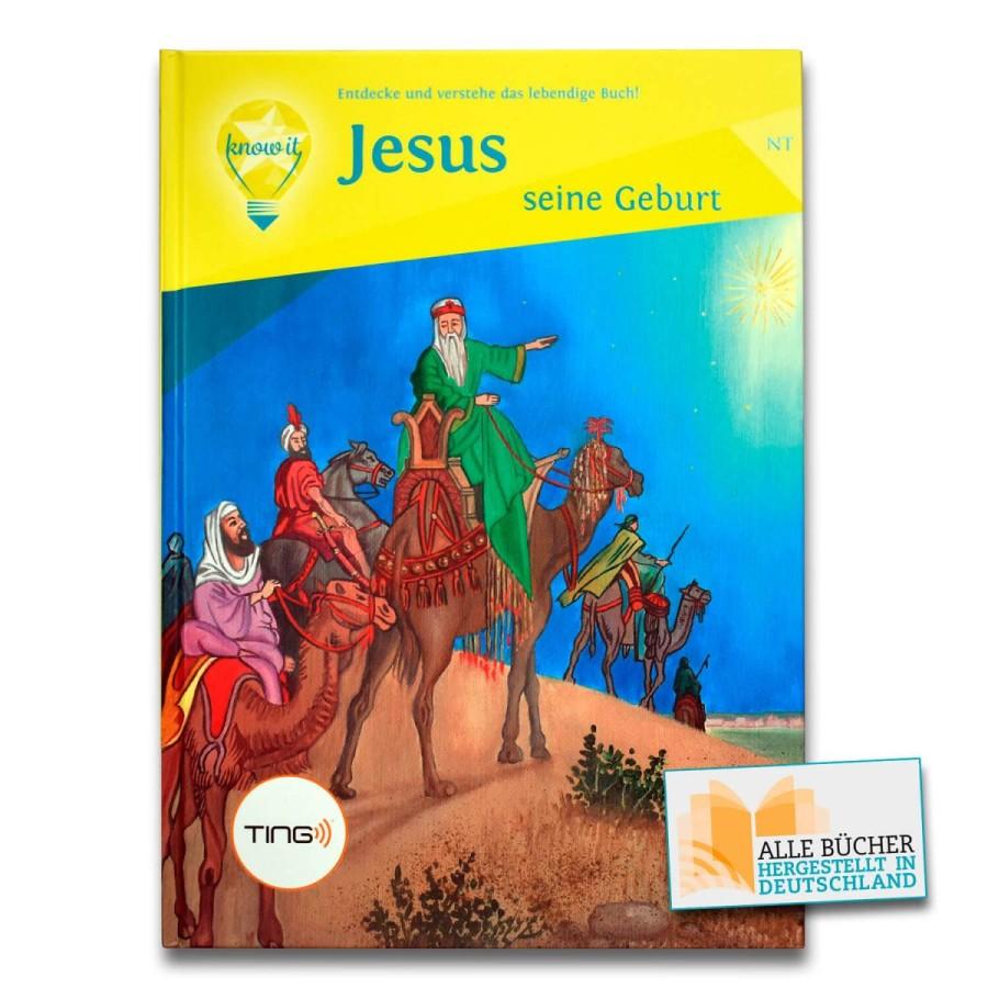 TING Audio Buch - Jesus seine Geburt