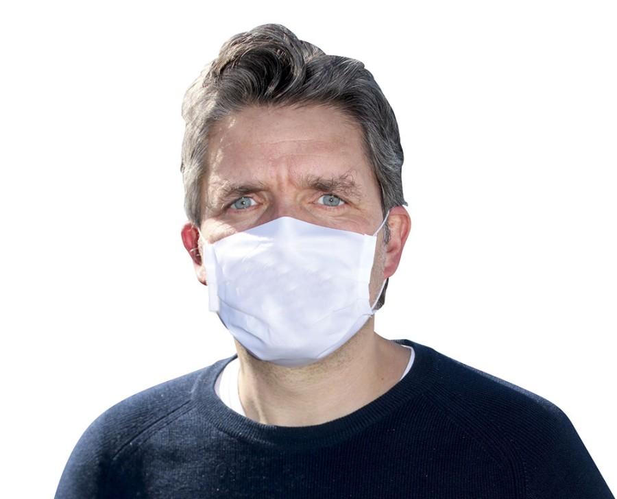 Mund-Nasen-Maske neutral