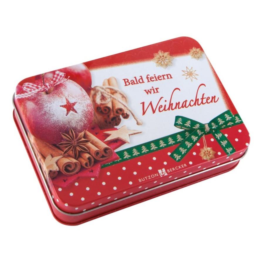 Bald feiern wir Weihnachten - 24 Adventskalender-Karten