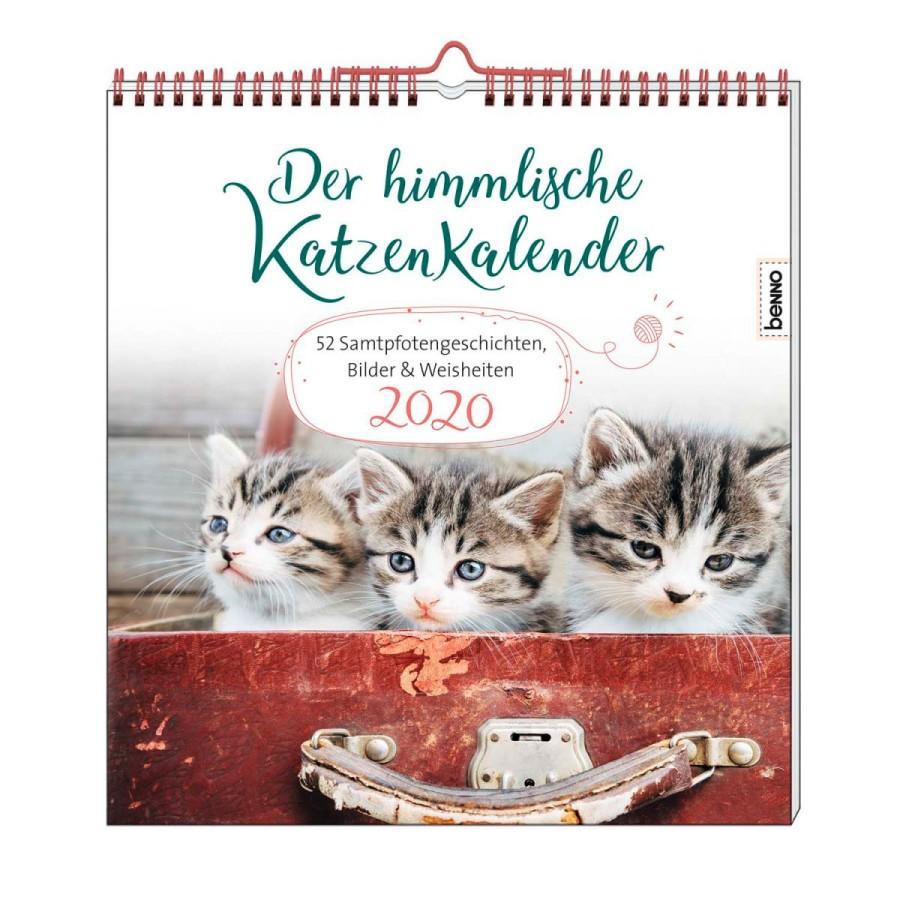 Der himmlische Katzenkalender 2020