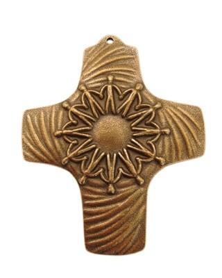 Bronzekreuz - Wir reichen uns die Hände