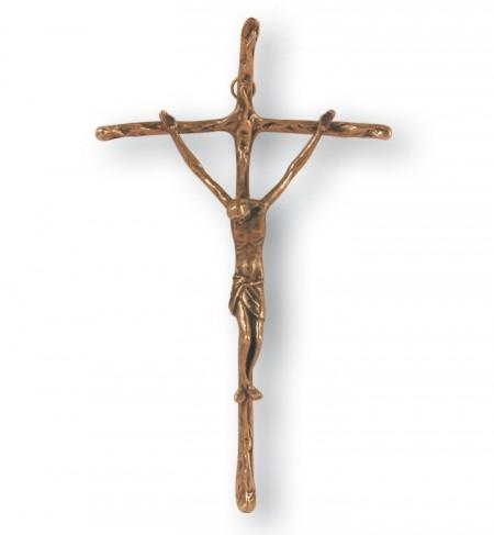 Papstkreuz Bronze