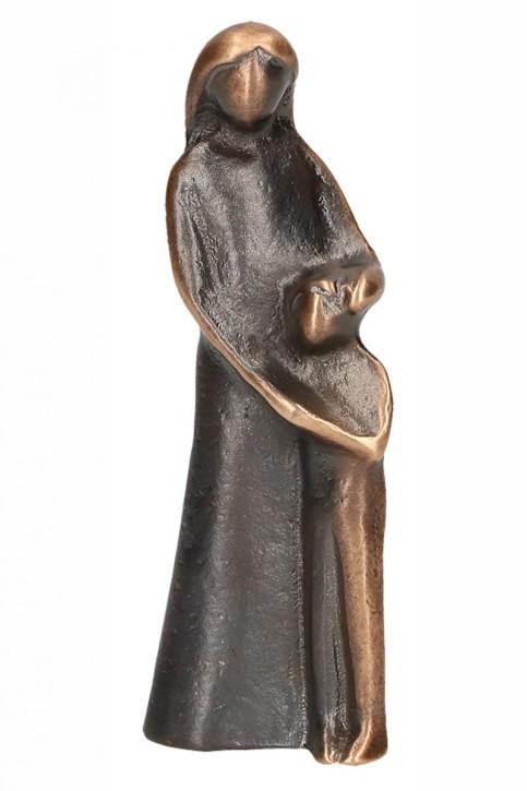 Bronzefigur Vertrauen