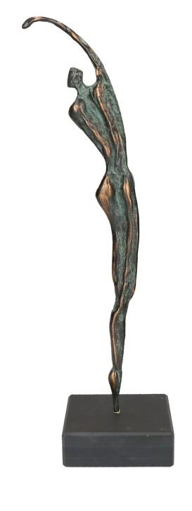 Figur Athlet aus Bronze