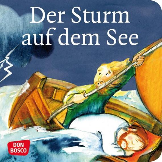 Der Sturm auf dem See. Mini-Bilderbuch.