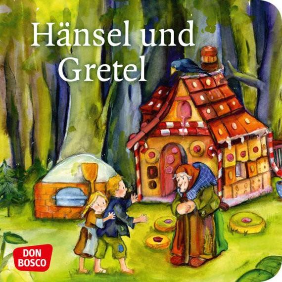 Hänsel und Gretel. Mini-Bilderbuch.