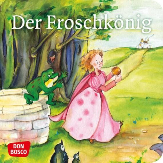 Der Froschkönig. Mini-Bilderbuch.