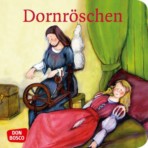 Dornröschen. Mini-Bilderbuch.