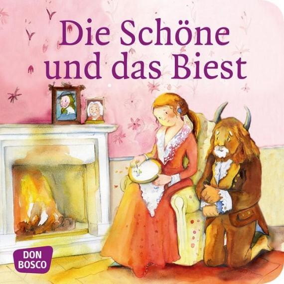 Die Schöne und das Biest. Mini-Bilderbuch.