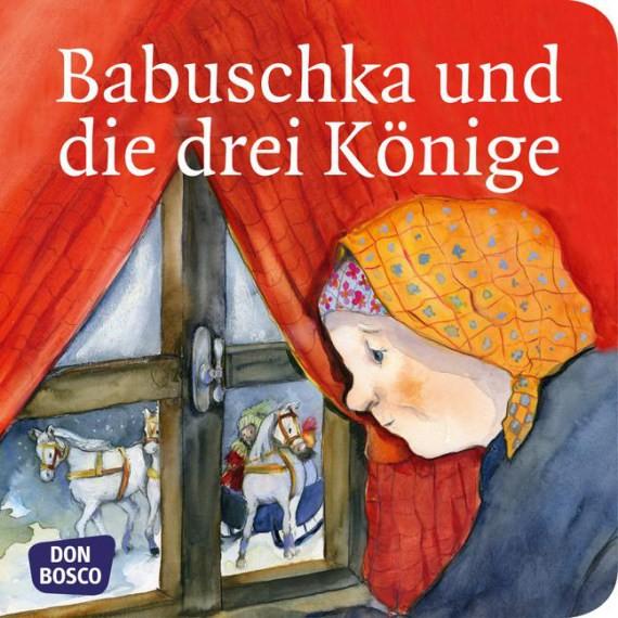 Babuschka und die drei Könige. Mini-Bilderbuch.