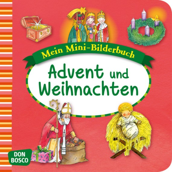 Advent und Weihnachten. Mini-Bilderbuch.