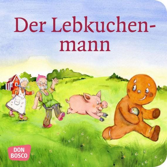 Der Lebkuchenmann. Mini-Bilderbuch.
