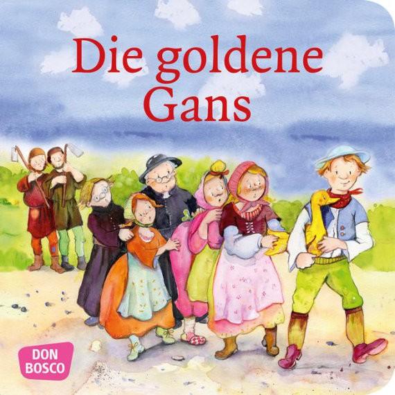 Die goldene Gans. Mini-Bilderbuch.